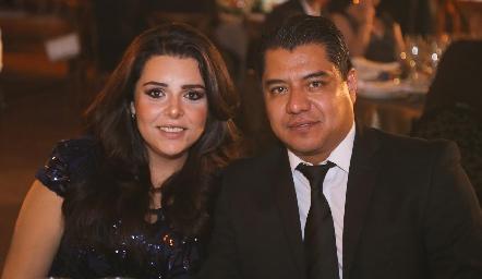 Karen Sandoval y Oscar Noyola.