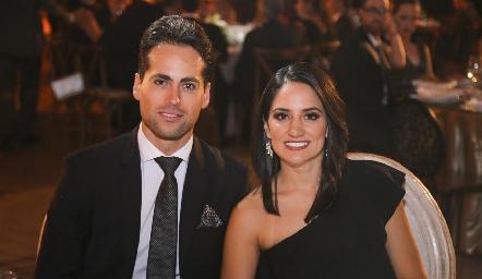José Contreras y Kathia Gómez.