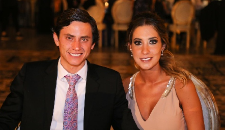 Juan Pablo Delgado y Mariana Fajardo.