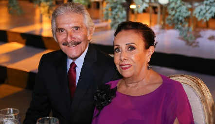 Saúl Velasco y Marianela Galarza.