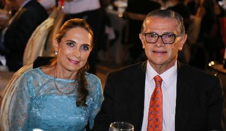 Lucía Lozano y David Galarza.