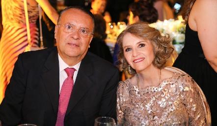 Guillermo y Laura Galarza.