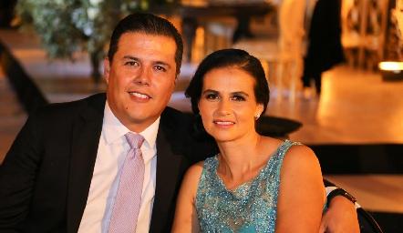 Luis Antonio Hernández y Alejandra Mireles.