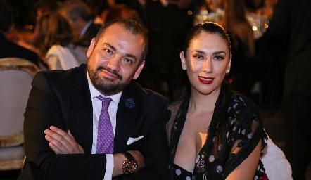 Ricardo Torres y Jordana Maya.