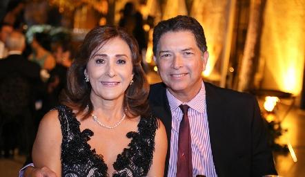 Marisa Fuentes y Jorge Montalvo.