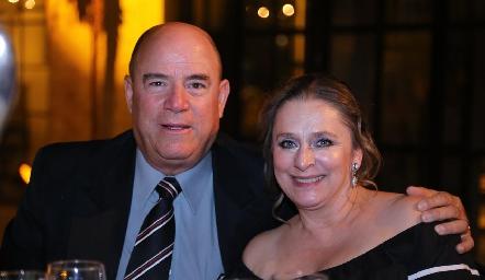 Carlos González y Luzma Ramírez.