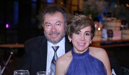 Miguel Peña y Norma Meza.