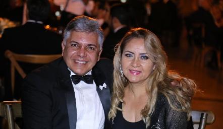 Juan Pedro Jaimes y Susana Ruiz.