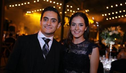 Mario Maya y Paulina Reynoso.