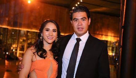 Rocío Ramírez y Pedro Rocha.