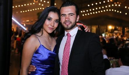 Mariana Armendáriz y Arturo Aranda.