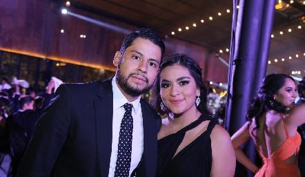 Felipe Ventura y Melissa Vera.