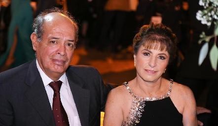 Edson Fajardo y Mariana Hurtado.