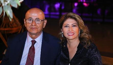 Francisco Faz y Cristina de Faz.