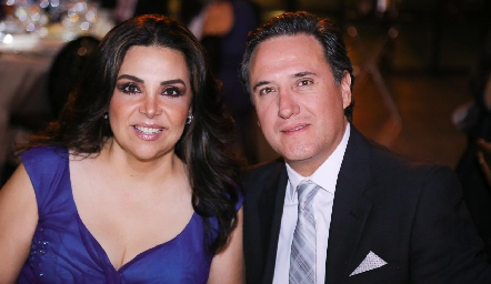 Karen y Daniel Galván.