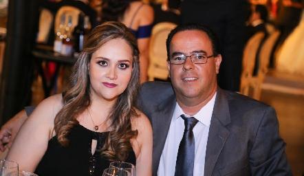 Priscila Ruiz y Oscar Parra.