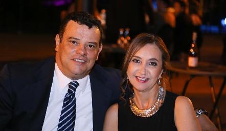 Alejandro Parra y Raquel González.