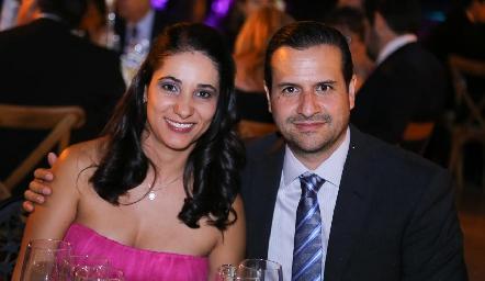 Verónica Díaz de León y Fernando Galarza.
