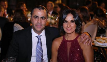 Alejandro Anaya y Maricarmen Galarza.