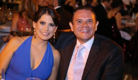 Karla Hernández y Saúl Velasco.