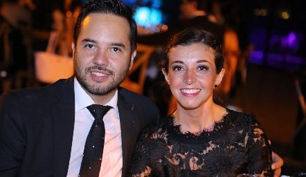 Carlos y Regina Labastida.