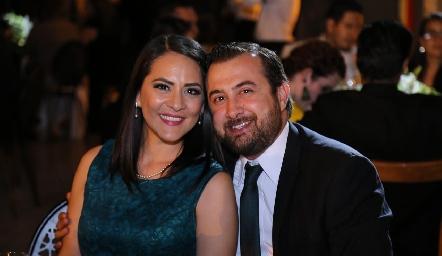 Daniela Hernández y Juan Manuel González.