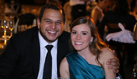 Juan Carlos González y Daniela Martínez.