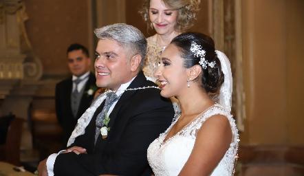 Guillermo y Pamela.