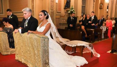 Guillermo González y Pamela Tomás Obrador.