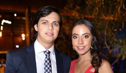 Pato Rodríguez y Mariana Anaya.