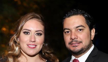 Daniela Jonguitud y Jorge Ortiz.