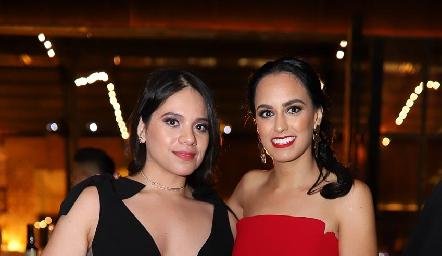 Sandra Mondragón y Natalia Leal.
