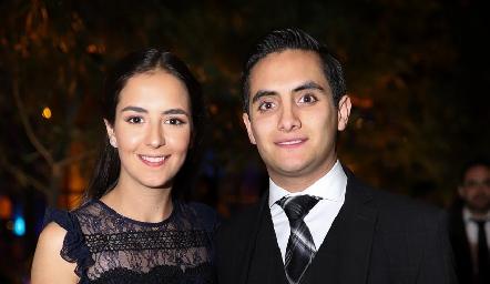 Paulina Reynoso y Mario Maya.
