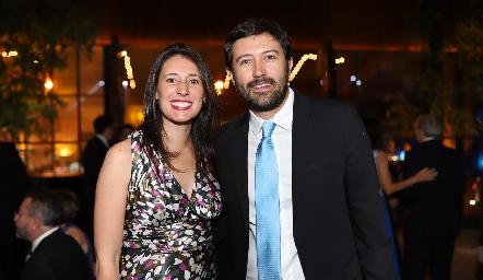 Paulette González y Luis Enrique Muñoz.