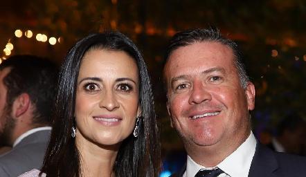 Mónica Galarza y Rodrigo Gómez.