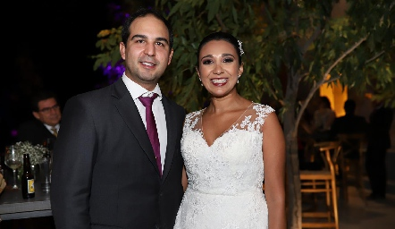 Rubén Leal y Pamela Tomás Obrador.