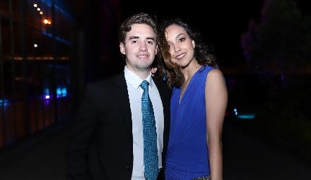 Luciano Molina y Regina Garduño.