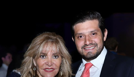 Conchis Sánchez y Gerardo Jiménez.