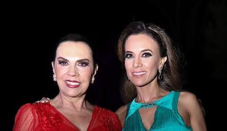 Yoya Galarza y Daniela Díaz de León.