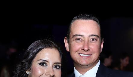 Laura Saldaña y Alejandro de la Parra.