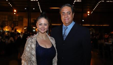Araceli Flores y Jaime Cantú.