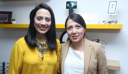 Fabiola Jerez y Paulina Jiménez.