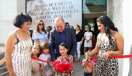 Inauguración de Gold Spa.