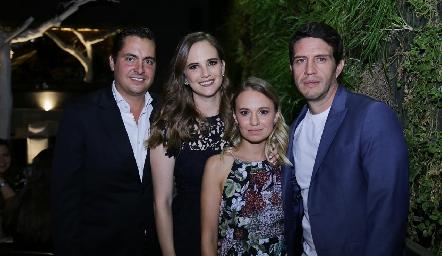 Carlos Almazán, Daniela Hernández, Pau López y Alejandro Lomelí.