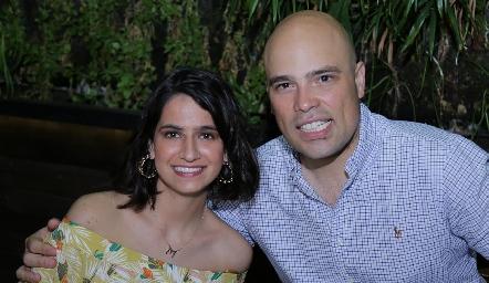 Mónica Medlich y Germán Sotomayor.