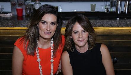 Lorena Hernández y Verónica Malo.