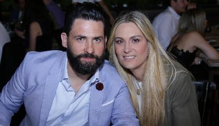 Gilberto Luna y Sofía Ruiz.