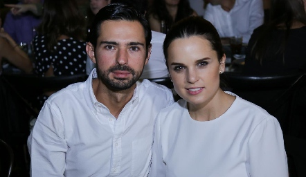 Andrés Allende y Maite Soberón.