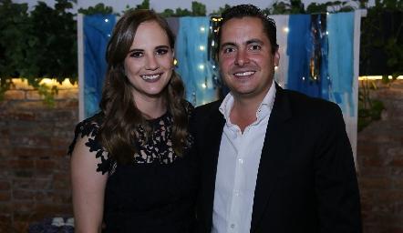 Daniela Hernández y Carlos Almazán.