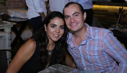 Fernanda Castillo y Christian Almazán.